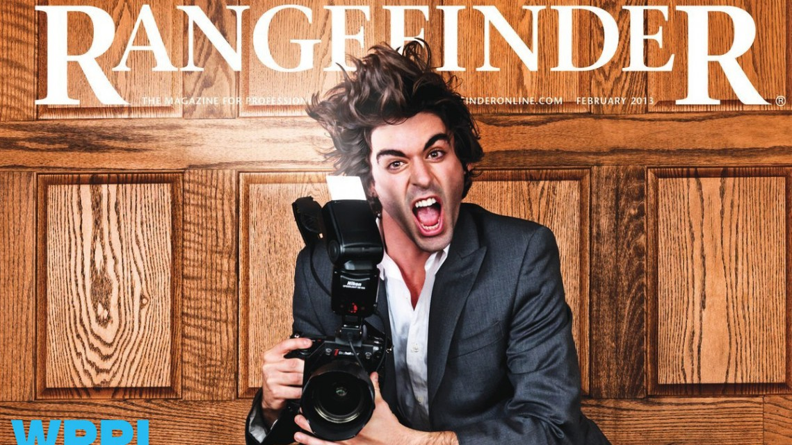 Rangefinder Magazine Cover: Peter Hurley— The Models' Photographer