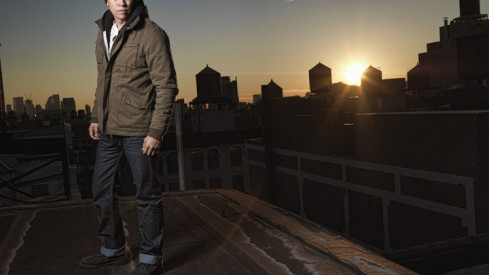 A Manhattan evening at twilight with Chaske Spencer and Peter Hurley